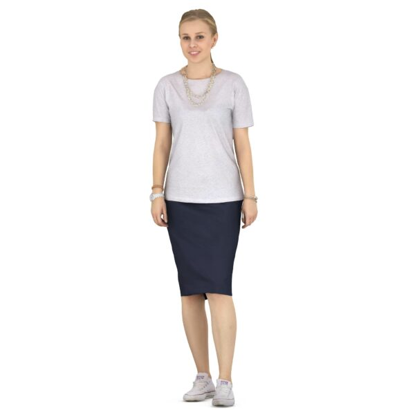 3d woman casual clothing scanned 3d model - Renderbot