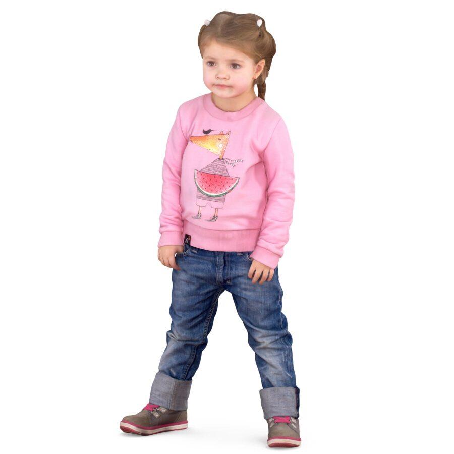 Baby 3d girl posing - scanned 3d model - Renderbot