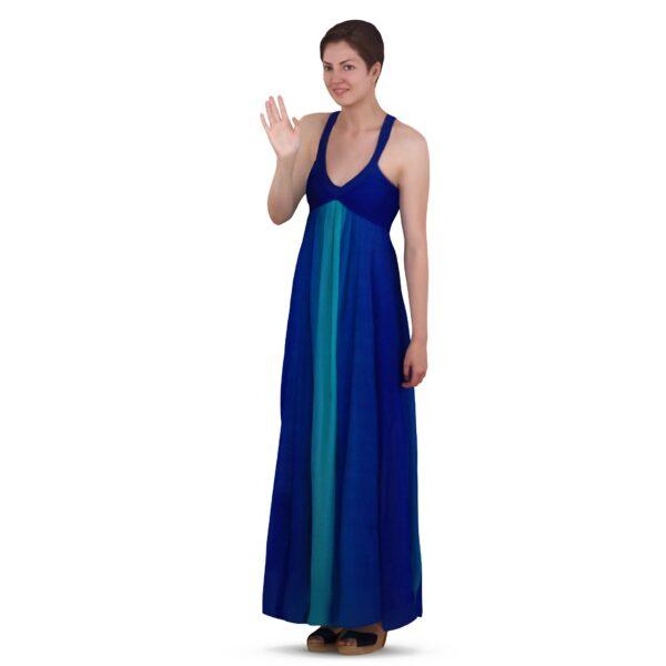 3d scanned woman in long dress - scanned 3d model - Renderbot