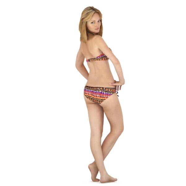 3d woman in lingerie posing - scanned 3d model - Renderbot