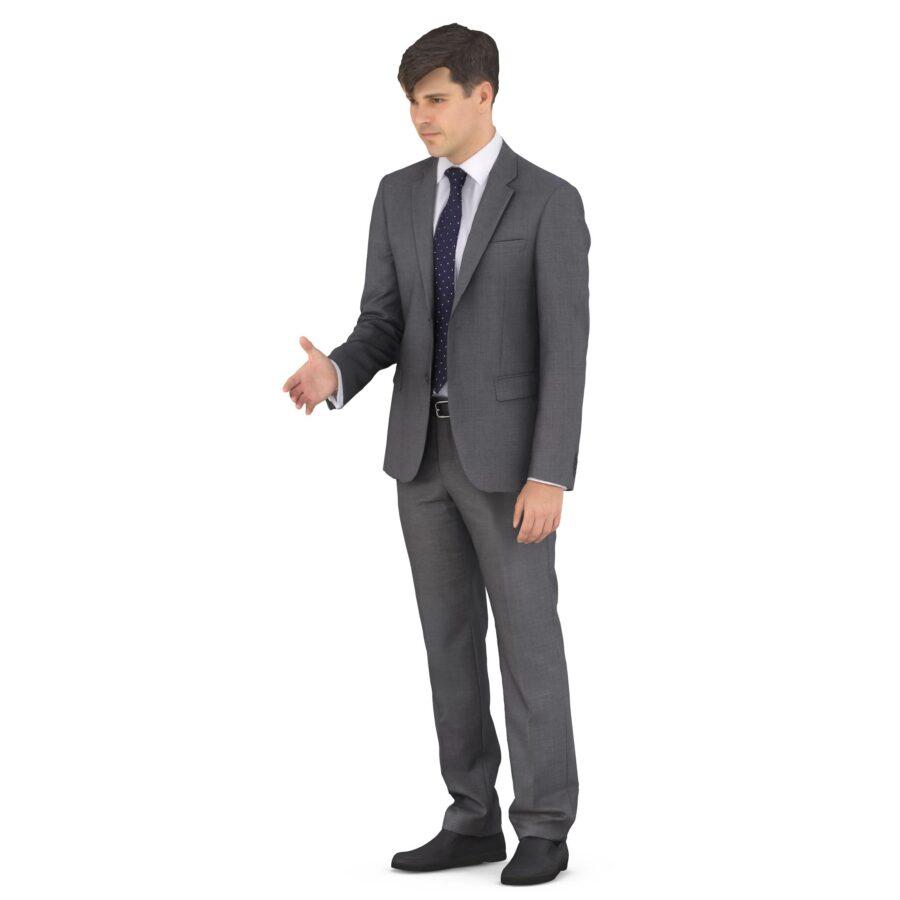 3d man greets - scanned 3d models - Renderbot