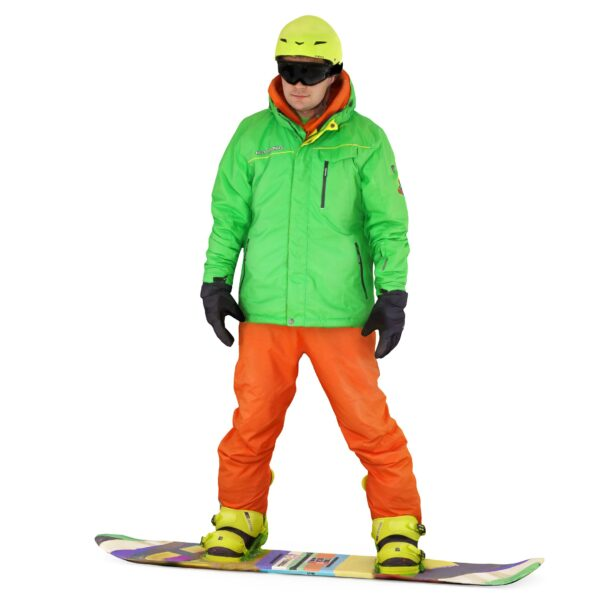 Snowboarder 3d man in glasses stands at the board - scanned 3d models - Renderbot