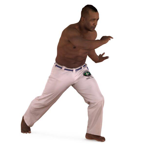 Capoeira 3d man - scanned 3d models - Renderbot