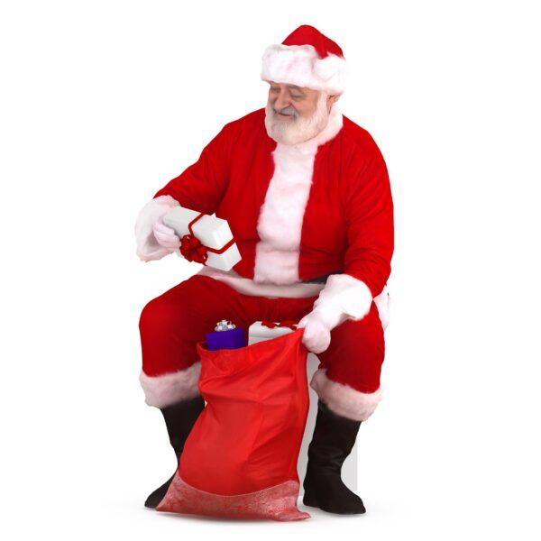 3d santa collecting gifts - scanned 3d models - Renderbot